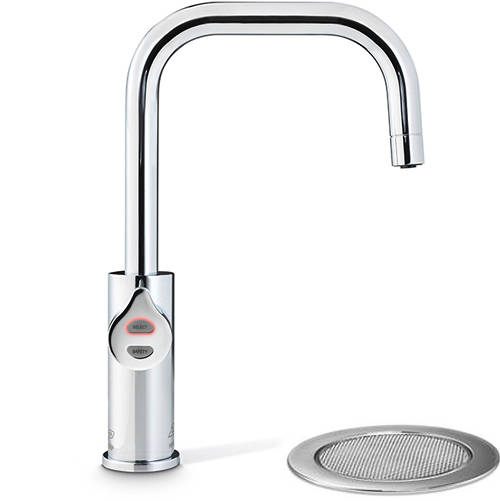 Additional image for Filtered Boiling Water Tap & Font (Bright Chrome).