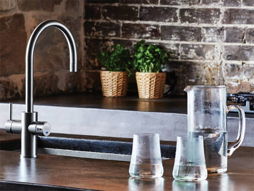 Additional image for AIO Filtered Boiling Water Tap (Bright Chrome).