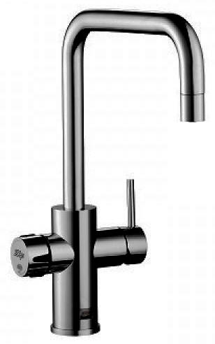 Additional image for AIO Filtered Chilled & Sparkling Water Tap (Matt Black).